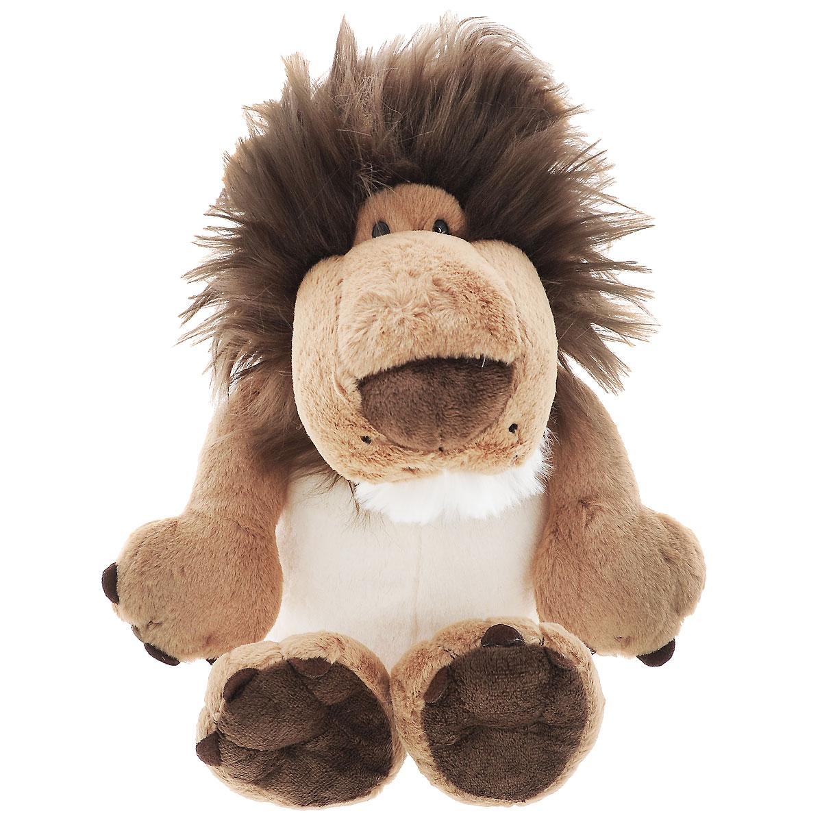 Мягкая игрушка Plush Apple Лев лохматый, 23 см мягкая игрушка plush apple медведь мишуткин с сердцем 30 см
