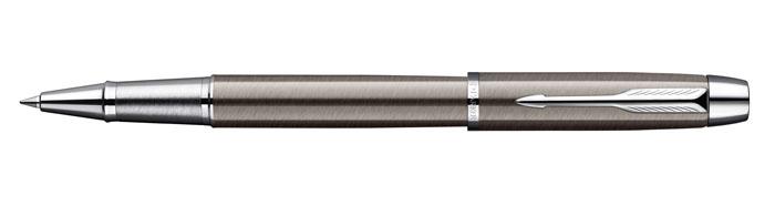 Роллер IM Gun Metal CT. PARKER-S0856410FS-00103Ручка-роллер«Паркер Ай Эм Ган Метал Си Ти». Инструмент для письма, линия письма – тонкая, цвет чернил – черный, в подарочной упаковке. Произведено в Китае.