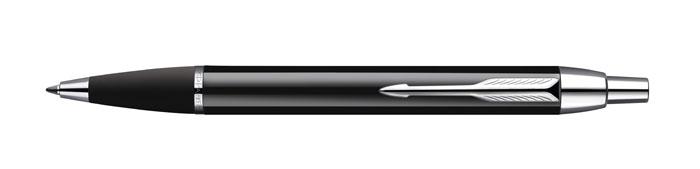 Шариковая ручка Паркер Ай Эм Блэк Си Ти. Инструмент для письма, линия письма - средняя, цвет чернил синий. Произведено в Китае.