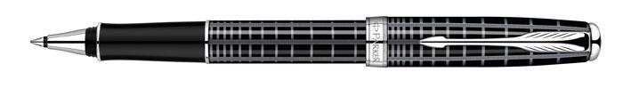 Parker Ручка-роллер Sonnet Dark Grey Laque CT72523WDКаждый элемент ручки, каждый ее штрих выполнен безупречно. Это безукоризненный образец стиля, достойного восхищения. Корпус покрыт серым металлизированным лаком с черной шелкографией.Отделка: оригинальный рисунок на черном лаке, имитирующий ювелирную перекрестную гравировку, отдельные элементы дизайна - никель-палладиевое покрытие. Цвет: темно-серый / черный. Размер ручки: длина ручки - 131 мм / 139 мм, максимальная ширина (диаметр) - 11 мм.Цвет корпуса: цветные с рисунком, Черный, серыйОтделка: серебряный цветТолщина корпуса: стандартнаяМатериал: ювелирная латуньКомплектация: Ручка со стержнем, подарочная коробка, руководство по эксплуатации с гарантийным талоном.