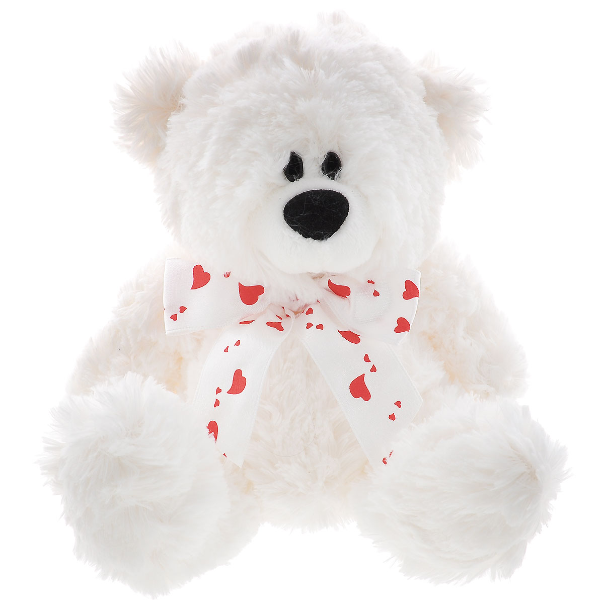 Plush Apple Мягкая игрушка Медведь с лентой, 17 см plush apple 27