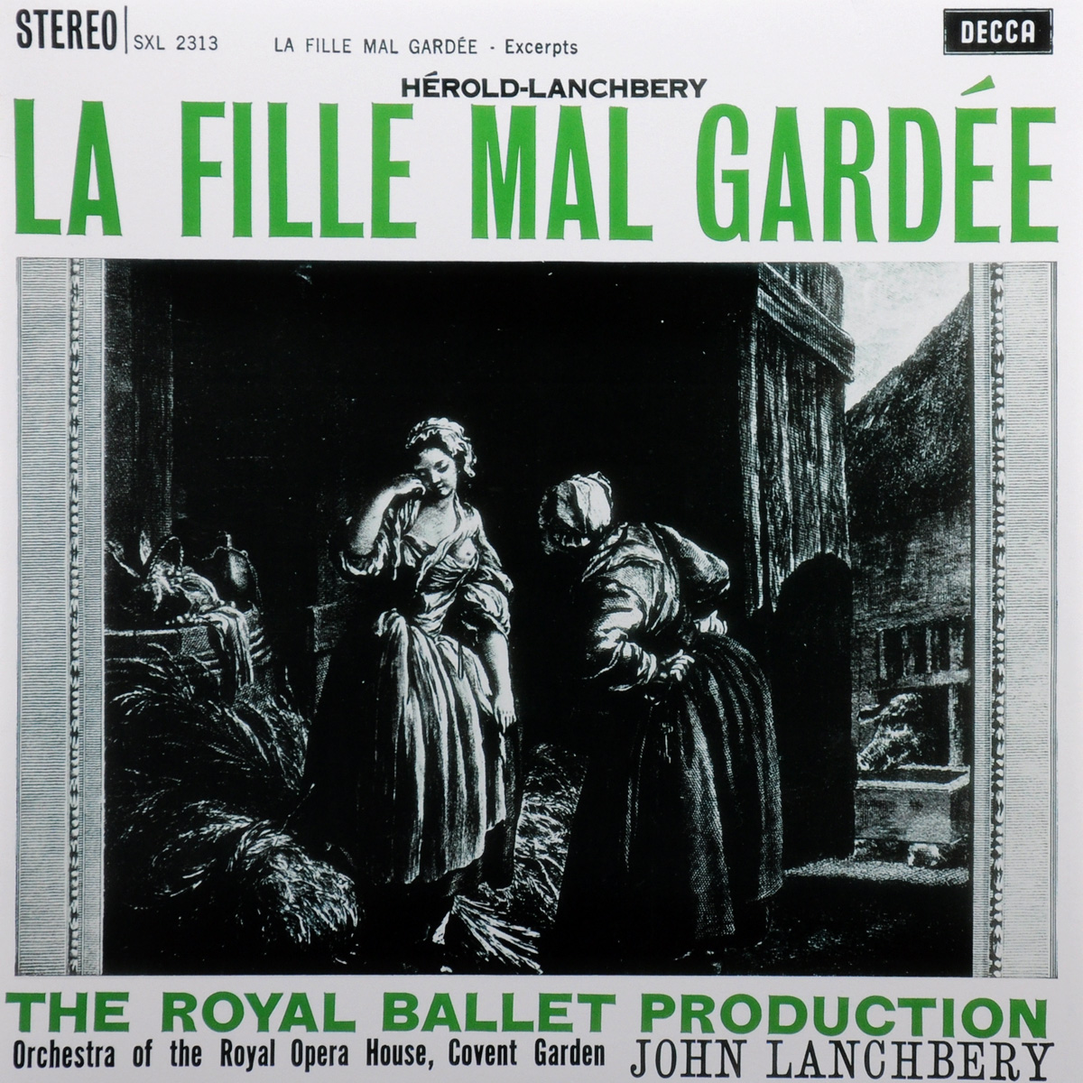 Джон Ланчбери,Orchestra Of The Royal Opera House Covent Garden John Lanchbery. Herold-Lanchbery. La Fille Mal Gardee (LP) the weeknd the weeknd house of balloons 2 lp