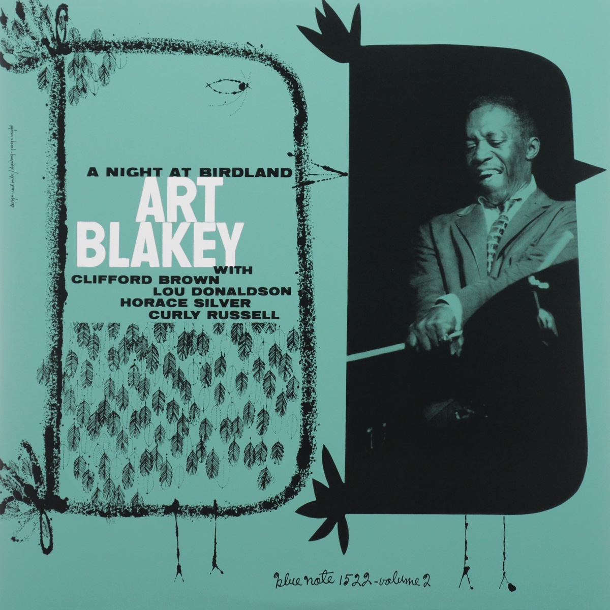 Art Blakey Quintet Art Blakey Quintet. A Night At Birdland. Volume 2 (LP) art blakey quintet art blakey quintet a night at birdland volume 2 lp