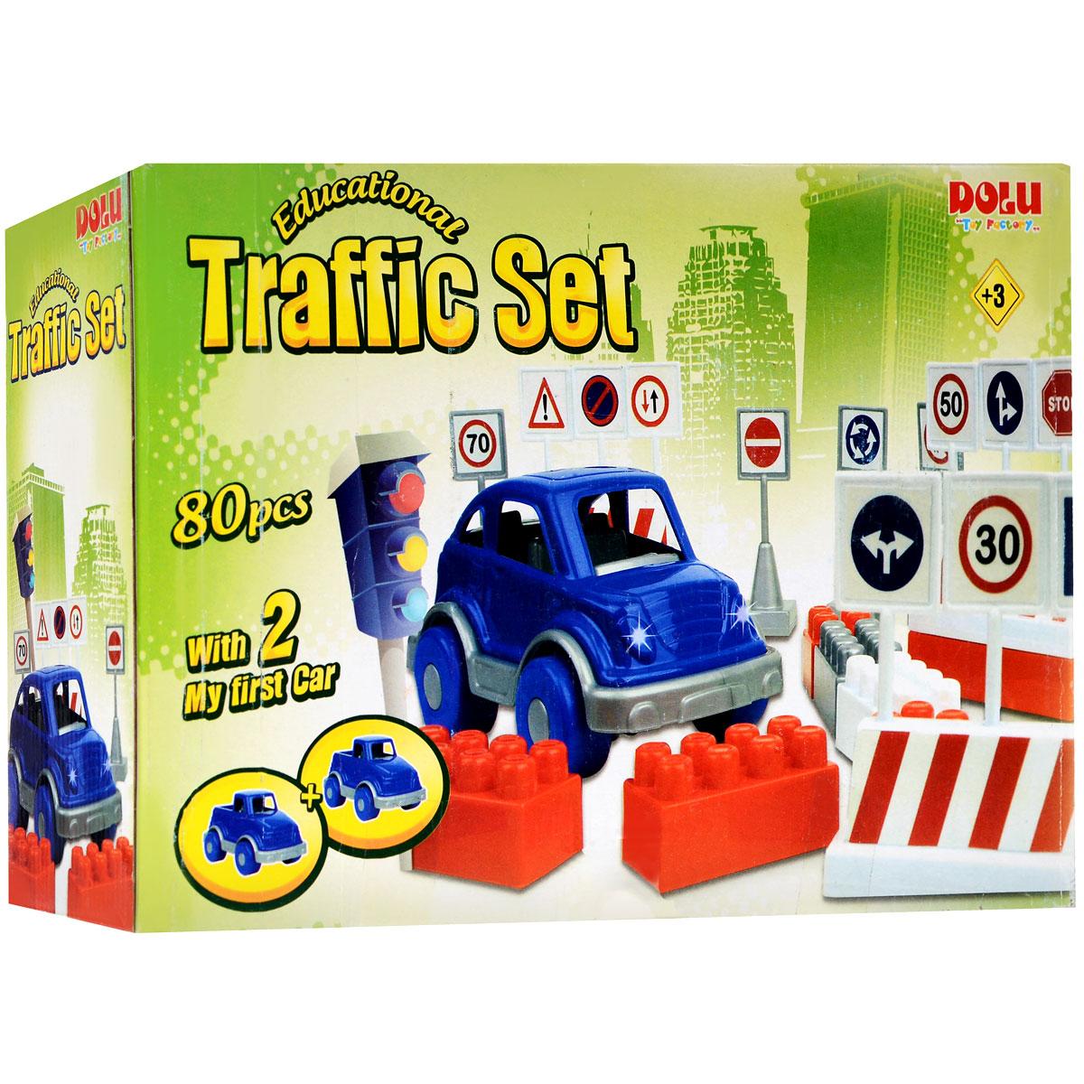 Dolu Конструктор Traffic Set обучающий dolu конструктор traffic set обучающий