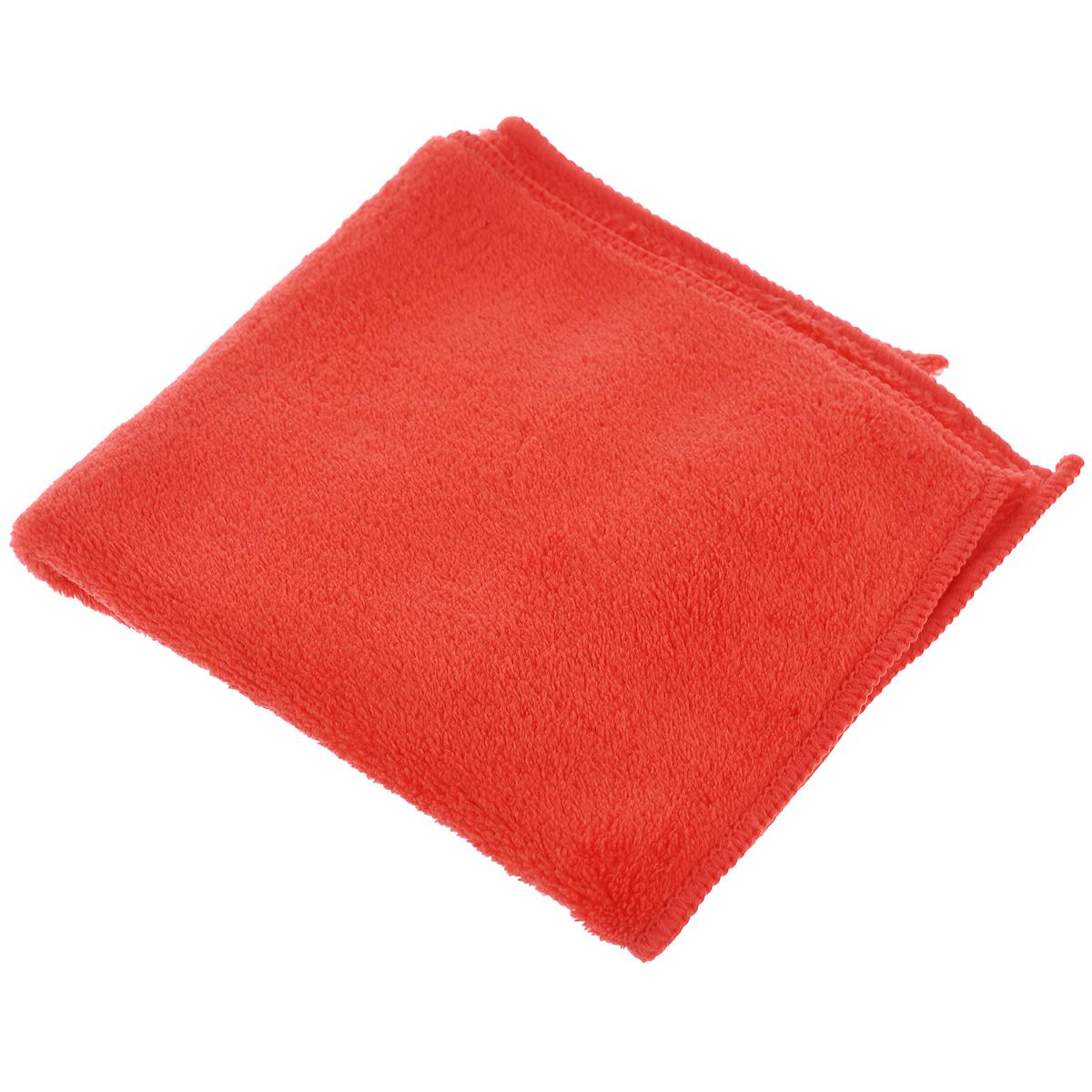 Салфетка для сухой уборки Celesta, из микрофибры, цвет: коралловый, 30 х 30 см870102Салфетка из микрофибры Celesta идеально подходит для сухой уборки, отлично очищает пыль на полированных поверхностях. После обработки салфеткой поверхность становится антистатической и пыль в дальнейшем на нее осаждается меньше. Состав: полиэстер 100%.Размер салфетки: 30 см х 30 см.