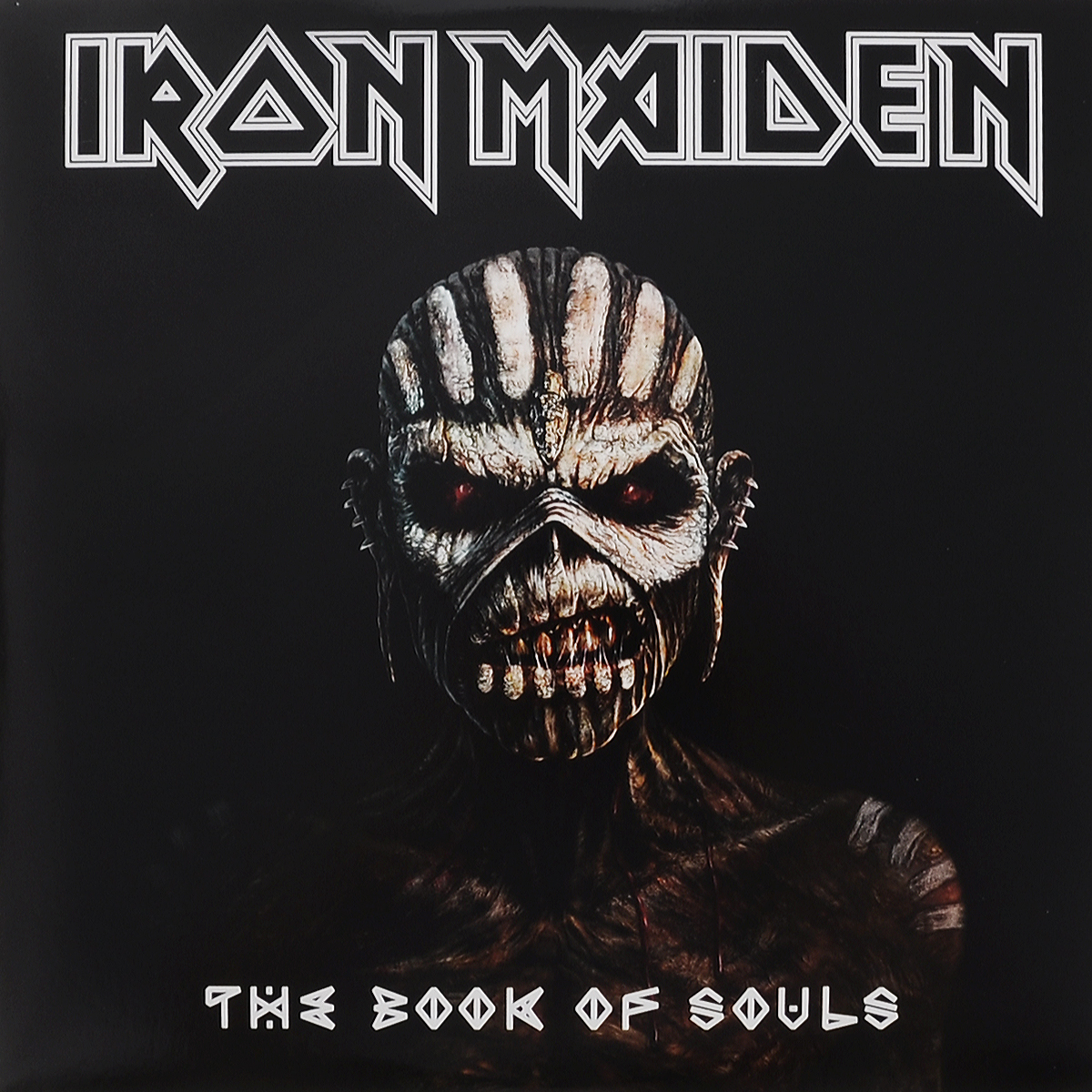 Iron Maiden Iron Maiden. The Book Of Souls (3 LP) iron maiden the book of souls 3 lp