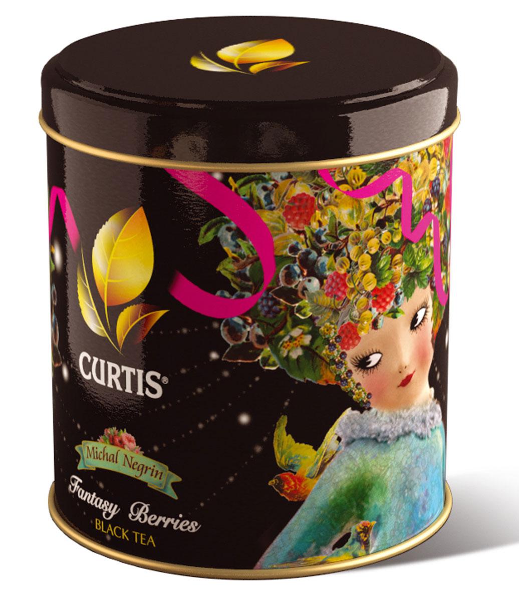 Curtis Fantasy Berries черный листовой чай, 70 г516220Curtis Fantasy Berries - черный листовой ароматизированный чай с ягодами годжи.