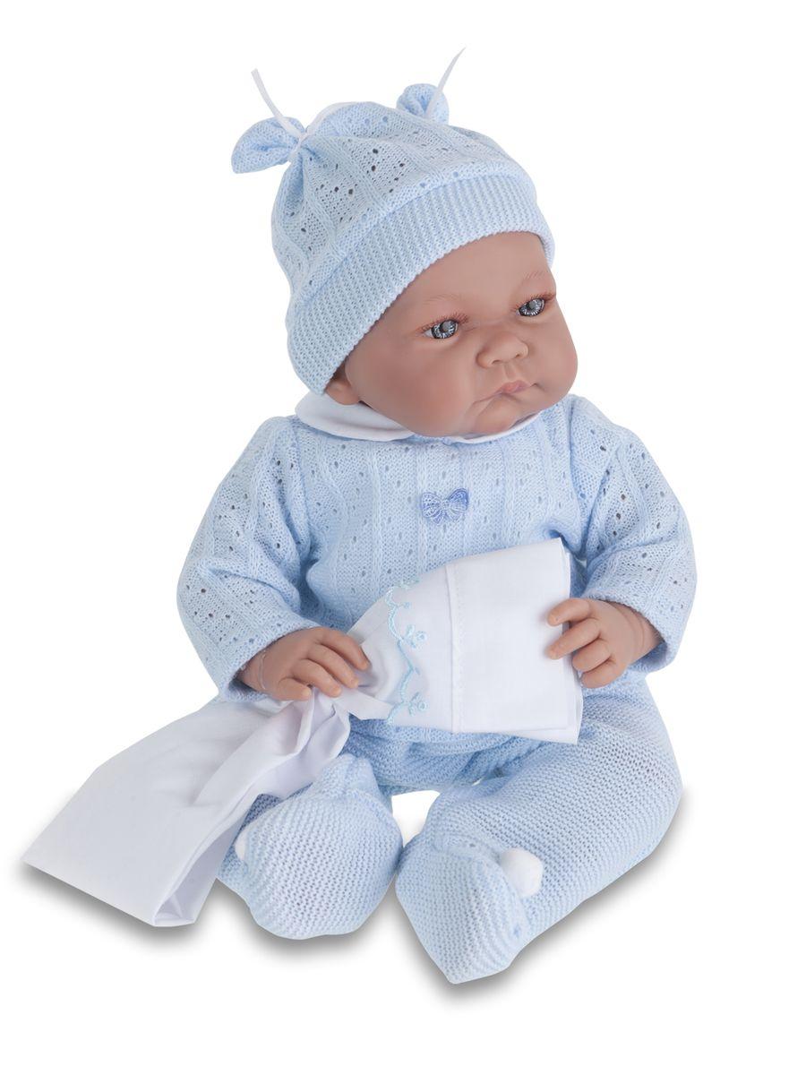 Juan Antonio Кукла Ника в голубом костюме funville кукла