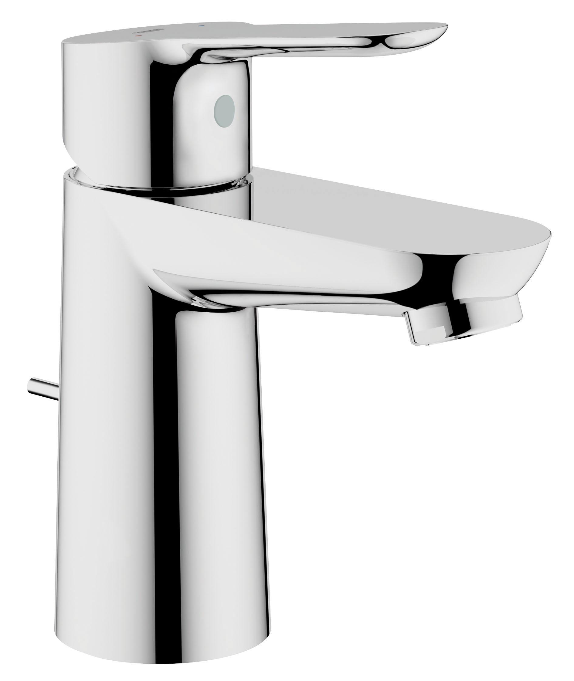Смеситель для раковины GROHE BauEdge с донным клапаном (23328000)68/5/3Монтаж на одно отверстие Металлический рычаг GROHE SilkMove керамический картридж 28 мм GROHE StarLight хромированная поверхностьGROHE EcoJoy5.7 л/мин Сливной гарнитур 1 1/4?, пластик Гибкая подводка Система быстрого монтажа Видео по установке является исключительно информационным. Установка должна проводиться профессионалами!
