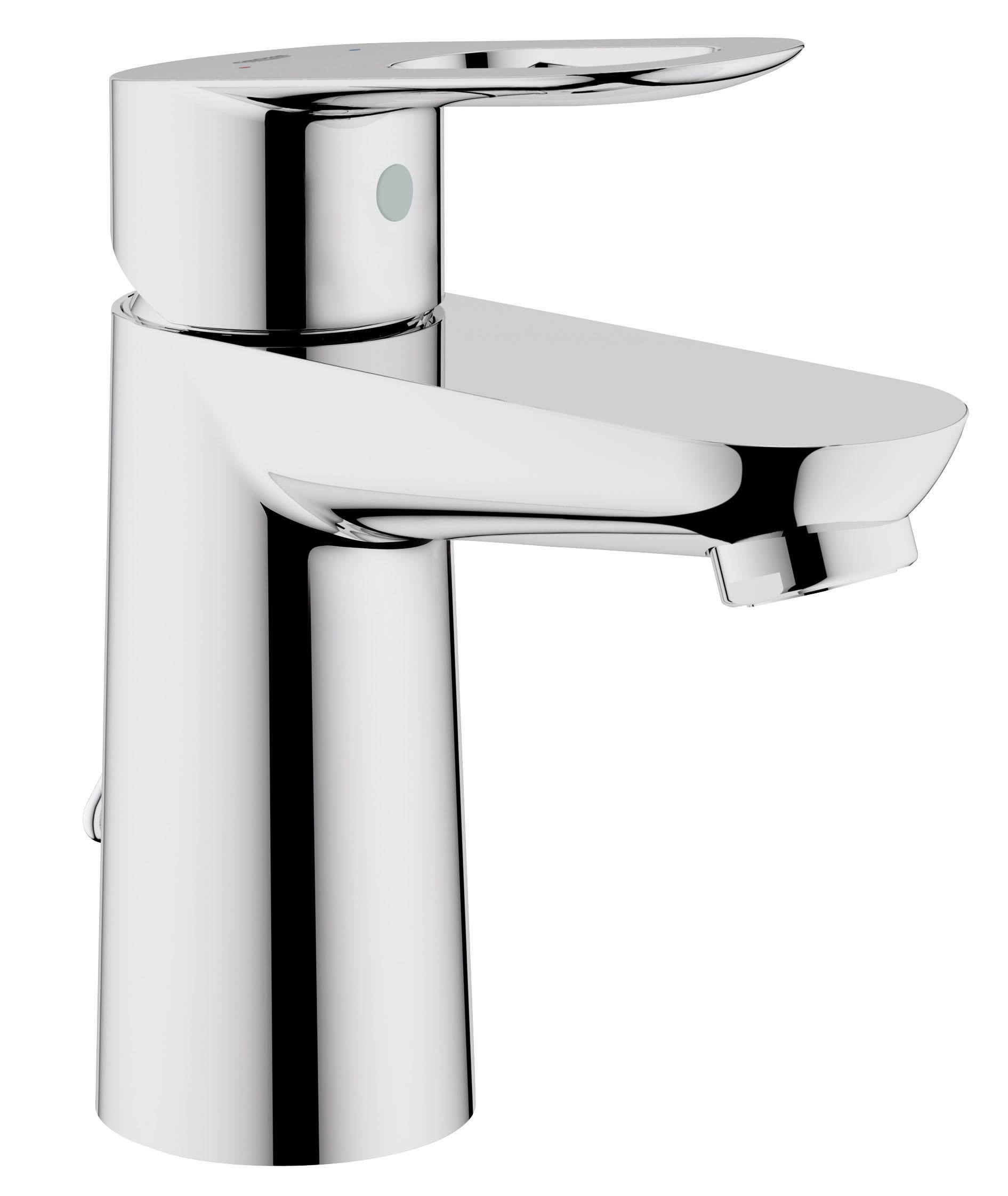 Смеситель для раковины GROHE BauLoop с цепочкой (23336000)68/5/3Монтаж на одно отверстие Металлический рычаг GROHE SilkMove керамический картридж 28 мм GROHE StarLight хромированная поверхностьGROHE EcoJoy - технология совершенного потока при уменьшенном расходе водыАэратор Цепочка Гибкая подводка Система быстрого монтажа Видео по установке является исключительно информационным. Установка должна проводиться профессионалами!