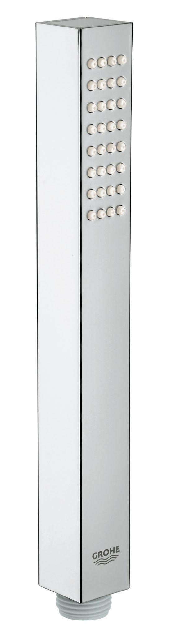 Ручной душ GROHE Euphoria Cube (1 режим) (27698000)BL505GROHE DreamSpray превосходный поток воды GROHE StarLight хромированная поверхностьС системой SpeedClean против известковых отложений Внутренний охлаждающий канал для продолжительного срока службы Может использоваться с проточным водонагревателем Универсальное крепление, подходящее к любому стандартному шлангуВидео по установке является исключительно информационным. Установка должна проводиться профессионалами!