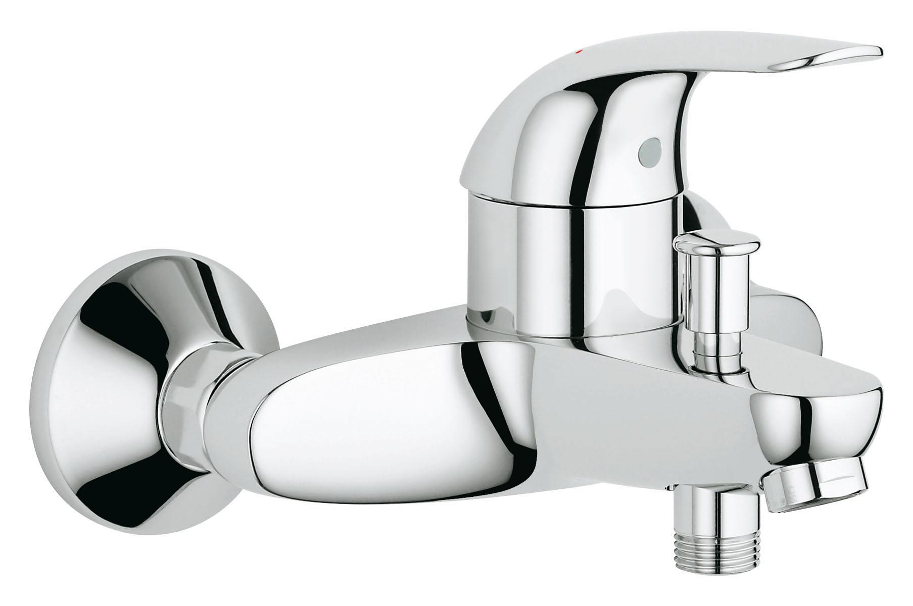 Смеситель для ванны GROHE Euroeco (32743000)32743000Настенный монтаж Металлический рычаг GROHE SilkMove керамический картридж O 46 мм GROHE StarLight хромированная поверхностьАвтоматический переключатель: ванна/душ Встроенный обратный клапан в душевом отводе 1/2? Аэратор Скрытые S-образные эксцентрики Отражатели из металла Дополнительный ограничитель температуры (46 308 000) С защитой от обратного потока Класс шума I по DIN 4109 Видео по установке является исключительно информационным. Установка должна проводиться профессионалами!