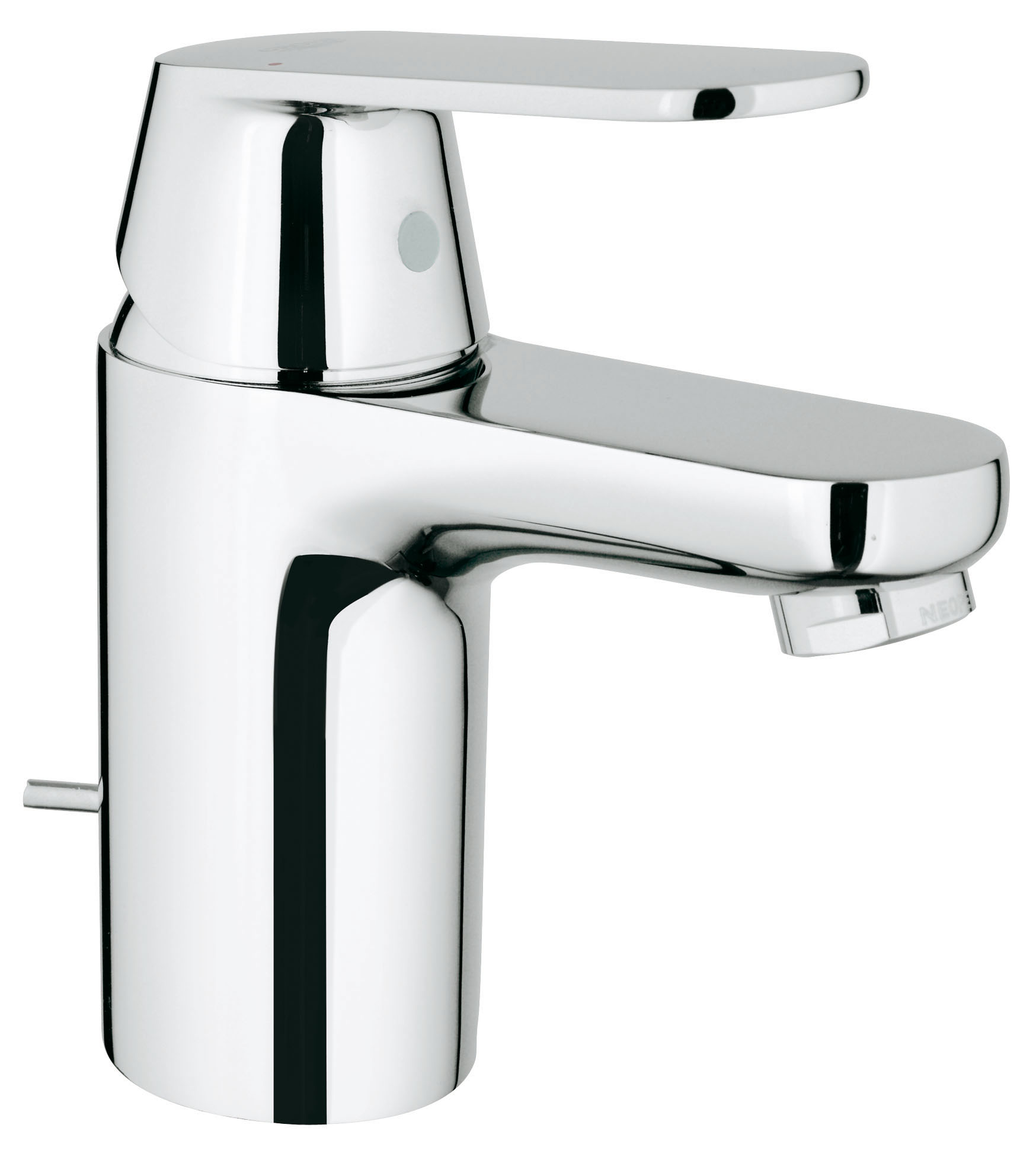 Смеситель для раковины GROHE Eurosmart Cosmopolitan с донным клапаном (3282500E)3282500EДолговечность и простота в уходе: смеситель для ванной комнаты Eurosmart Cosmopolitan совместим со всеми раковинами обычной конфигурации и идеально приспособлен для всех повседневных водных процедур. Применяемая в нем технология GROHE SilkMove обеспечит легкость управления температурой и напором воды, а об экономном расходе воды позаботится водосберегающий механизм.Особенностимонтаж на одно отверстие металлический рычаг GROHE EcoJoy Технология совершенного потока при уменьшенном расходе водыGROHE SilkMove керамический картридж 35 мм GROHE StarLight хромированная поверхность регулировка расхода воды возможность установки мин. расхода 2,5 л/мин GROHE EcoJoy SpeedClean аэратор с ограничением расхода воды 5,7 л/мин сливной гарнитур 1 1/4? гибкая подводка GROHE QuickFixTM быстрая монтажная система ограничитель температуры класс шума I по DIN 4109 Видео по установке является исключительно информационным. Установка должна проводиться профессионалами!