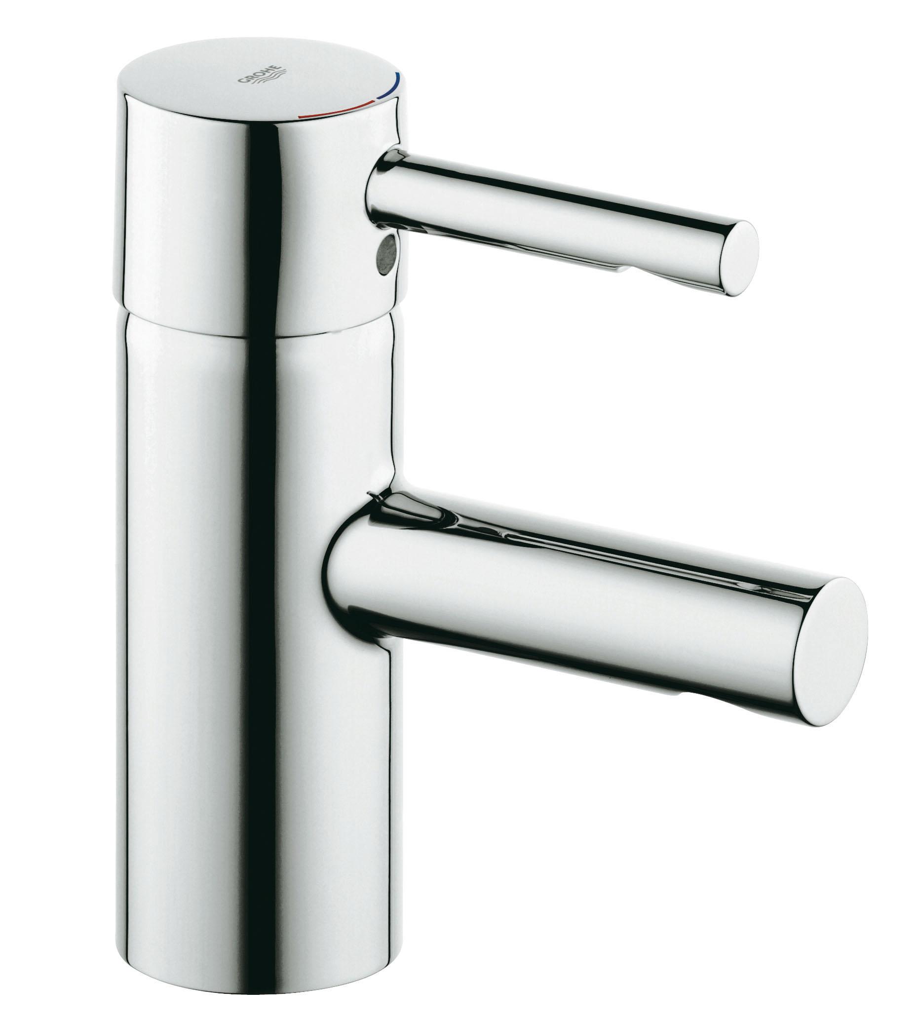Смеситель для раковины GROHE Essence (34294000)BL505GROHE Essence: смеситель для ванной комнаты с ослепительным покрытием Благодаря цилиндрическим формам и тонкому рычагу, этот смеситель для ванной комнаты из коллекции GROHE Essence привлекает внимание своей эффектностью. Он оснащен прямым изливом, чья высота подобрана таким образом, чтобы обеспечивать комфорт в комбинации с раковинами стандартных размеров. Смеситель отличается цельным корпусом и не имеет встроенных механизмом управления сливным клапаном. Технология GROHE SilkMove, применяемая в конструкции картриджа, обеспечивает регулировку температуры и напора воды минимальным усилием. Хромированное покрытие GROHE StarLight поможет Вашему новому смесителю сохранить свой ослепительный внешний вид на долгие годы. Специальная система упрощенного монтажа позволит выполнить установку данного однорычажного смесителя практически мгновенно.Особенности:Монтаж на одно отверстие GROHE SilkMove керамический картридж 35 мм GROHE StarLight хромированная поверхностьРегулировка расхода воды Возможность установки мин. расхода 2,5 л/мин. Встроенный аэратор Гладкий корпус Без тяги и сливного гарнитура Гибкая подводка Система быстрого монтажа Скрытое крепление рычага Видео по установке является исключительно информационным. Установка должна проводиться профессионалами!
