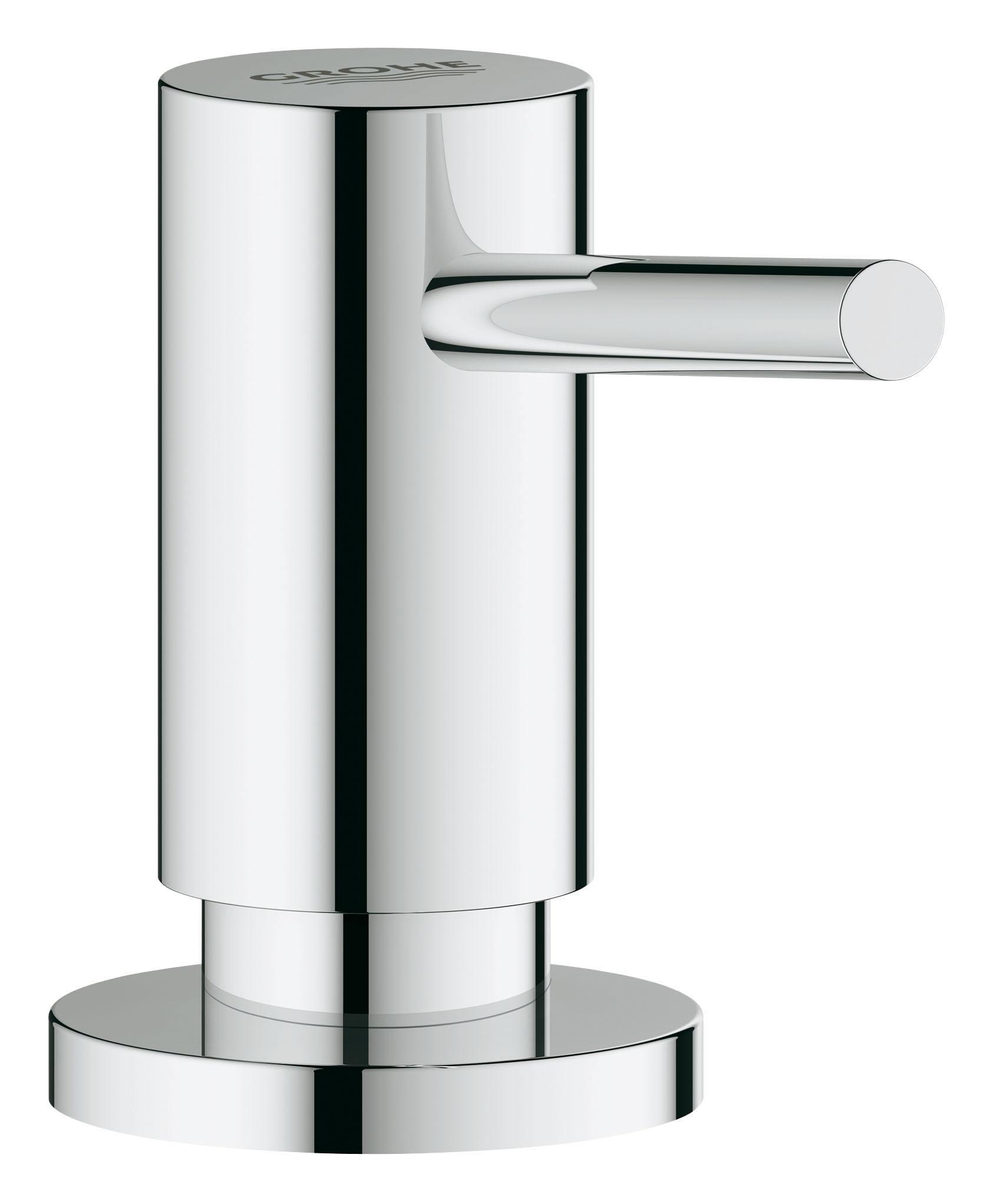 Дозатор жидкого мыла GROHE. 40535000S03301004Для жидкого мыла,Запасная емкость 0,4 лGROHE StarLight хромированная поверхность