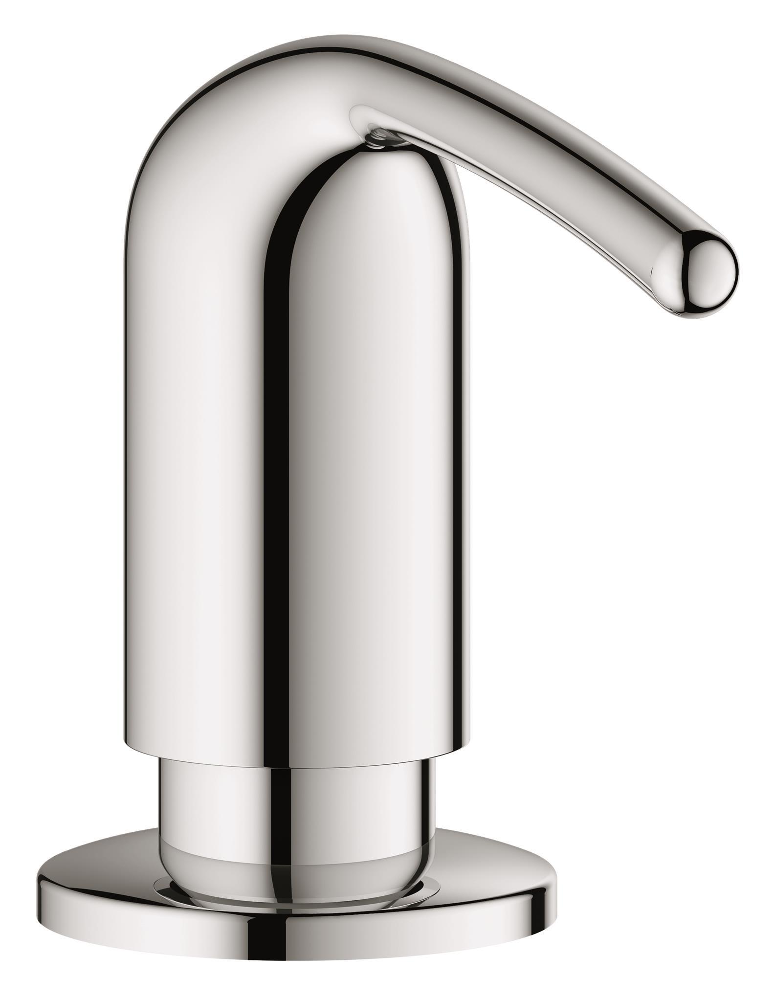 Дозатор для жидкого мыла Grohe Zedra, встраиваемый в столешницу, 400 млCLP446Дозатор для жидкого мыла Grohe Zedra идеален для современных ванных комнат, его геометрические формы и чистые линии играют ключевую роль. В серии Zedra вы сможете найти несколько смесителей для ванной и кухни, но также вы сможете найти много аксессуаров, которые смогут внести последний штрих в дизайн ванной.