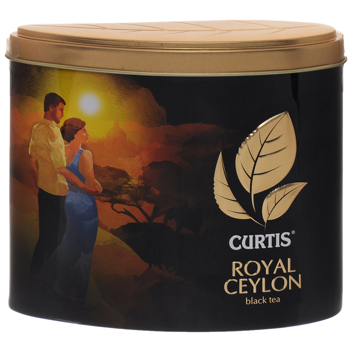 Curtis Royal Ceylon черный листовой чай, 80 г0120710Curtis Royal Ceylon - крупнолистовой цейлонский черный чай. Высший сорт.