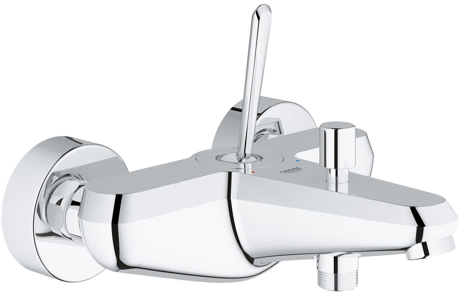 Смеситель для ванны GROHE Eurodisc Joy, хром23431000Управление одним кончиком пальца Инновационный механизм управления с помощью джойстика, в котором воплотилась сама суть концепции дизайна коллекции Eurodisc, представляет собой неповторимое эстетическое решение. Эта модель с невероятно легким управлением станет украшением любой ванной комнаты.Выбор покрытия и размера модели Белоснежное глянцевое покрытие с хромированными элементами представляет собой оригинальную альтернативу классическому хромированному покрытию и гармонично впишется в интерьер любой ванной комнаты. Определившись с моделью смесителя для раковины среди коллекций GROHE, вы сможете выбрать не только покрытие, но и размер смесителя в соответствии с потребностями вашей семьи. Для обеспечения комфорта при различных условиях использования в нашем ассортименте представлены модели размеров s, M и XL.Скоординированный дизайн душевого оборудования Какое бы покрытие вы ни предпочли, будь то хромированное или белоснежное, в ассортименте GROHE найдутся ручные и верхние души, безупречно гармонирующие с дизайном Eurodisc Joystick.Механизм Joystick — с расчетом на долгую службу Данная модель, в которой легендарные рабочие качества классической серии Eurodisc cosmopolitan объединились с точным механизмом управления на базе джойстика, выпускается в двух вариантах покрытия: хромированном и белоснежном. Четкий скульптурный силуэт и основательный облик модели воплощают собой современный и динамичный стиль — настоящий образец актуального первоклассного дизайна.ОсобенностиСмеситель однорычажный для ванны настенный монтаж металлический рычаг GROHE SilkMove GROHE StarLight хромированная поверхностьвстроенный обратный клапан в душевом отводе 1/2? автоматический переключатель: ванна/душ аэратор скрытые S-образные эксцентрики с защитой от обратного потока Видео по установке является исключительно информационным. Установка должна проводиться профессионалами! Серия: Eurodisc Joy; цвет: хром