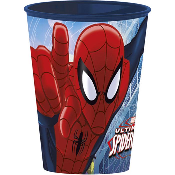 Disney Стаканчик пластмассовый Spider-Man, 260 мл52407Яркий стаканчик Spider-Man доставит вашему малышу массу удовольствия. Изготовлен стаканчик из высококачественного полипропилена красного цвета. Со стенок стакана на вашего малыша смотрит герой любимого фильма Человек-Паук. Прекрасное дополнение к праздничному столу на детской вечеринке! Такой подарок станет не только приятным, но и практичным сувениром, добавит ярких эмоций вашему ребенку!
