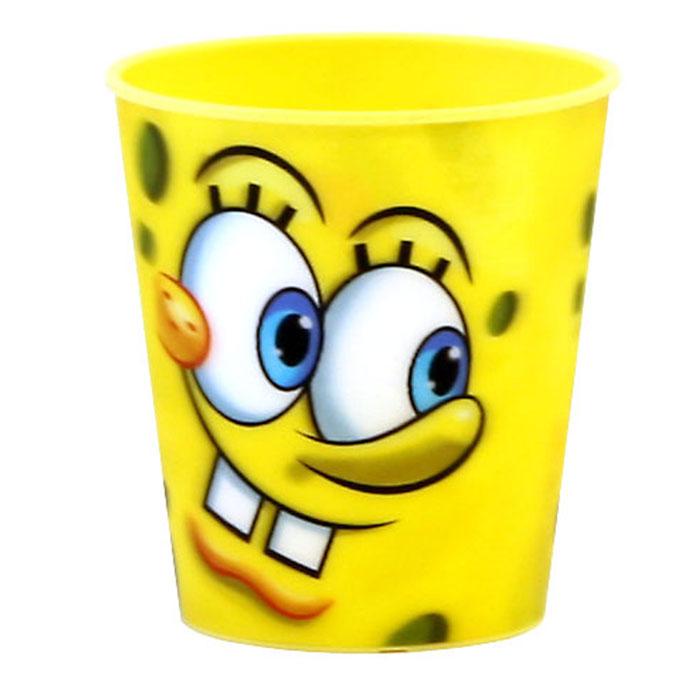 Губка Боб Стаканчик пластмассовый 3D, цвет: желтый, 280 мл54 009312Яркий стаканчик Губка Боб с 3D рисунком доставит вашему малышу массу удовольствия. Изготовлен стаканчик из высококачественного полипропилена желтого цвета. Со стенок стакана вашему малышу улыбается герой любимого мультфильма. Прекрасное дополнение к праздничному столу на детской вечеринке! Такой подарок станет не только приятным, но и практичным сувениром, добавит ярких эмоций вашему ребенку!