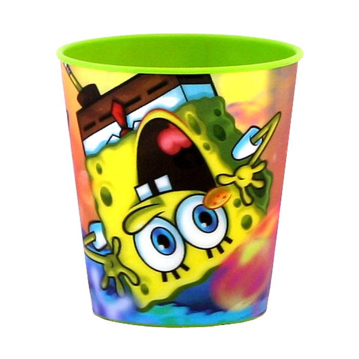 Губка Боб Стаканчик пластмассовый 3D, цвет: зеленый, 280 мл4/415Яркий стаканчик Губка Боб с 3D рисунком доставит вашему малышу массу удовольствия. Изготовлен стаканчик из высококачественного полипропилена зеленого цвета. Со стенок стакана вашему малышу улыбается герой любимого мультфильма. Прекрасное дополнение к праздничному столу на детской вечеринке! Такой подарок станет не только приятным, но и практичным сувениром, добавит ярких эмоций вашему ребенку!