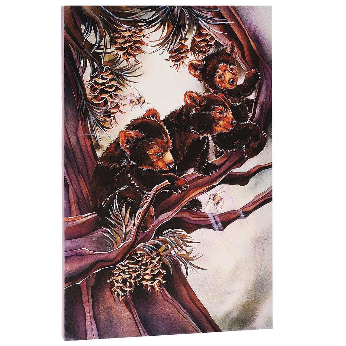 КвикДекор Картина на холсте Жизнь прекрасна, 60 см х 40 см1519Картина на холсте КвикДекор Жизнь прекрасна - это прекрасное решение для декора помещения. Она привнесет в интерьер яркий акцент и сделает обстановку комфортной и уютной.Работа автора Джоди Бергсма, родом из Беллингхэм Штат Вашингтон США, признанная во всем мире художница, уже имеет обширный список лицензиатов. Работы Джоди воплощают ее отношения с природой и ее страсть к мифическим существам. Ее коллекция изображений включает в себя все: от фей и русалок до Знаков Зодиака и дикой природы. Очень давно маленькую девочку Джоди мучили кошмары. Мама, успокаивая дочку, говорила, что, если бы она рисовала их, они больше никогда не смогли бы ее испугать. Эти монстры, драконы и разные чудовища из детства подготовили почву для ее будущих работ - картин, которые зарождаются в ее сознании. Примерно в 15 лет Джоди стала рисовать профессионально, продавая свои акварельные картины на местных художественных выставках. Сотни ее оригиналов, главным образом детей и домашних животных, были проданы, когда она была еще подростком. Уже тогда она поняла, что ее жизнь будет посвящена искусству.Картина на холсте не нуждается в рамке или багете - галерейная натяжка холста на подрамники выполнена очень аккуратно, а боковые части картины запечатаны продолжением картинки либо тоновой заливкой. На обратной стороне подрамника имеется отверстие, благодаря которому картину можно легко закрепить на стене и подкорректировать ее положение.Материал: натуральный х/б холст, латексная печать.Галерейная натяжка на деревянный подрамник.