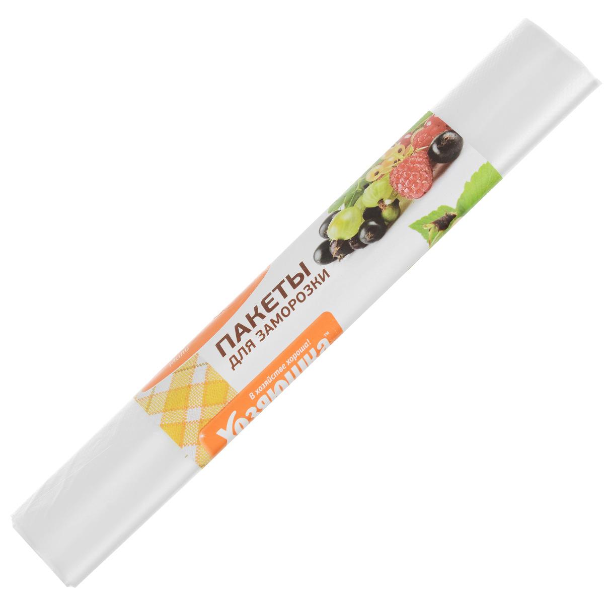 Пакет для хранения и замораживания продуктов Хозяюшка Мила, 3 лVT-1520(SR)Пакет для хранения и замораживания продуктов Хозяюшка Мила изготовлен из пищевого полиэтилена. В таком пакете удобно хранить любые пищевые продукты. Также подходит для заморозки.