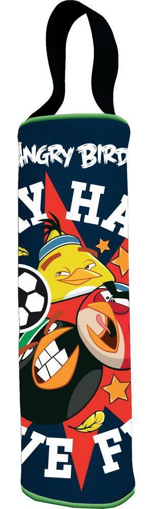 Пенал-тубус. Angry Birds72523WDШкольный пенал для канцелярских принадлежностей вместит в себя все самое необходимое для учебы. Пенал очень яркий и красочный. Изображения любимых героев мультфильмов поднимут настроение ученику, что тоже немаловажно.Пенал имеет надежный замок-молнию.