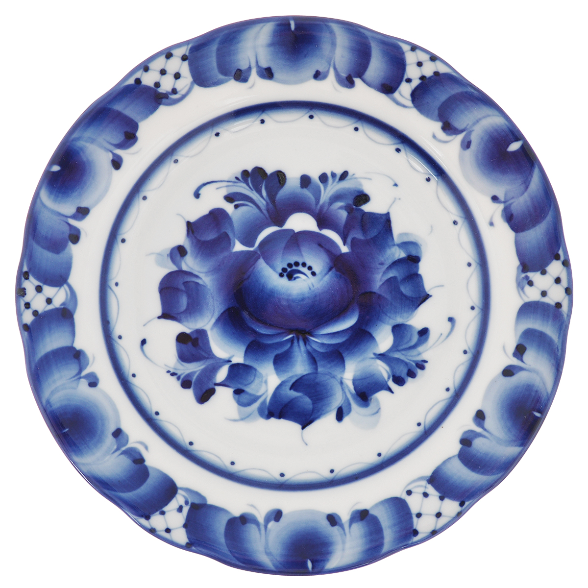 Тарелка для пирожков Дубок, диаметр 17,5 см115510Тарелка для пирожков Дубок, изготовленная из высококачественной керамики, предназначена для красивой сервировки стола. Тарелка оформлена оригинальной гжельской росписью. Прекрасный дизайн изделия идеально подойдет для сервировки стола.Обращаем ваше внимание, что роспись на изделиях сделана вручную. Рисунок может немного отличаться от изображения на фотографии. Диаметр: 17,5 см. Высота тарелки: 2 см.