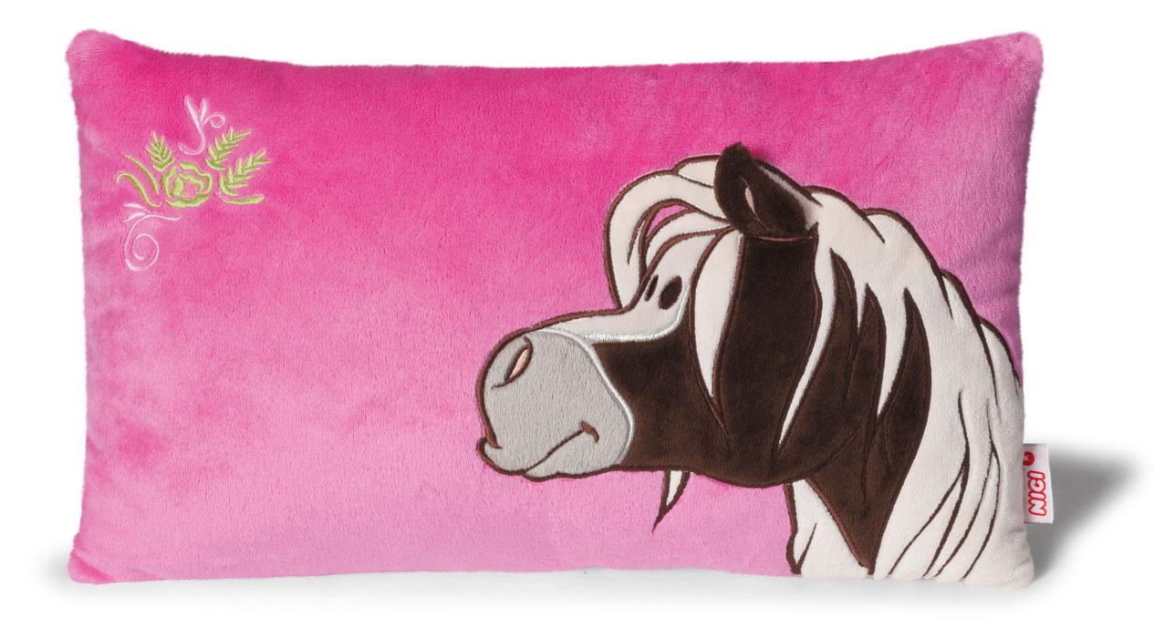 Nici Подушка Пони Пунита цвет розовый бежевый 43 х 25 см