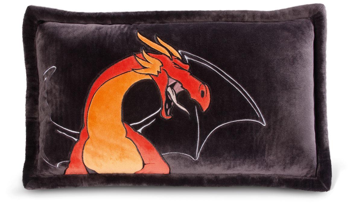 Nici Подушка Красный дракон 63 х 40 см531-105Мягкая подушка Nici Красный дракон не оставит равнодушным вашего ребенка.Мягкая и приятная на ощупь подушка прямоугольной формы выполнена из полиэстера с мягкой набивкой и оформлена вышитой аппликацией в виде красного дракона. Подушка удивительно приятна на ощупь. Необычайно мягкая, она принесет радость и подарит своему обладателю мгновения нежных объятий и приятных воспоминаний.Такая подушка станет отличным аксессуаром для детской комнаты.