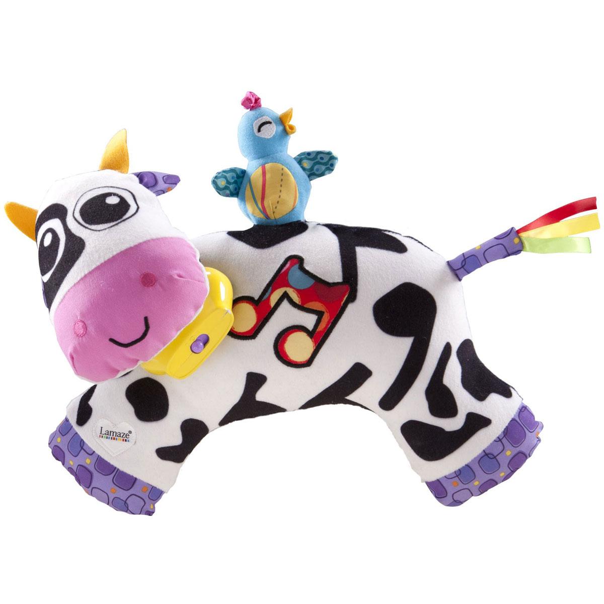 Lamaze Развивающая игрушка Музыкальная коровка музыкальная развивающая игрушка розумне цуценя в харькове