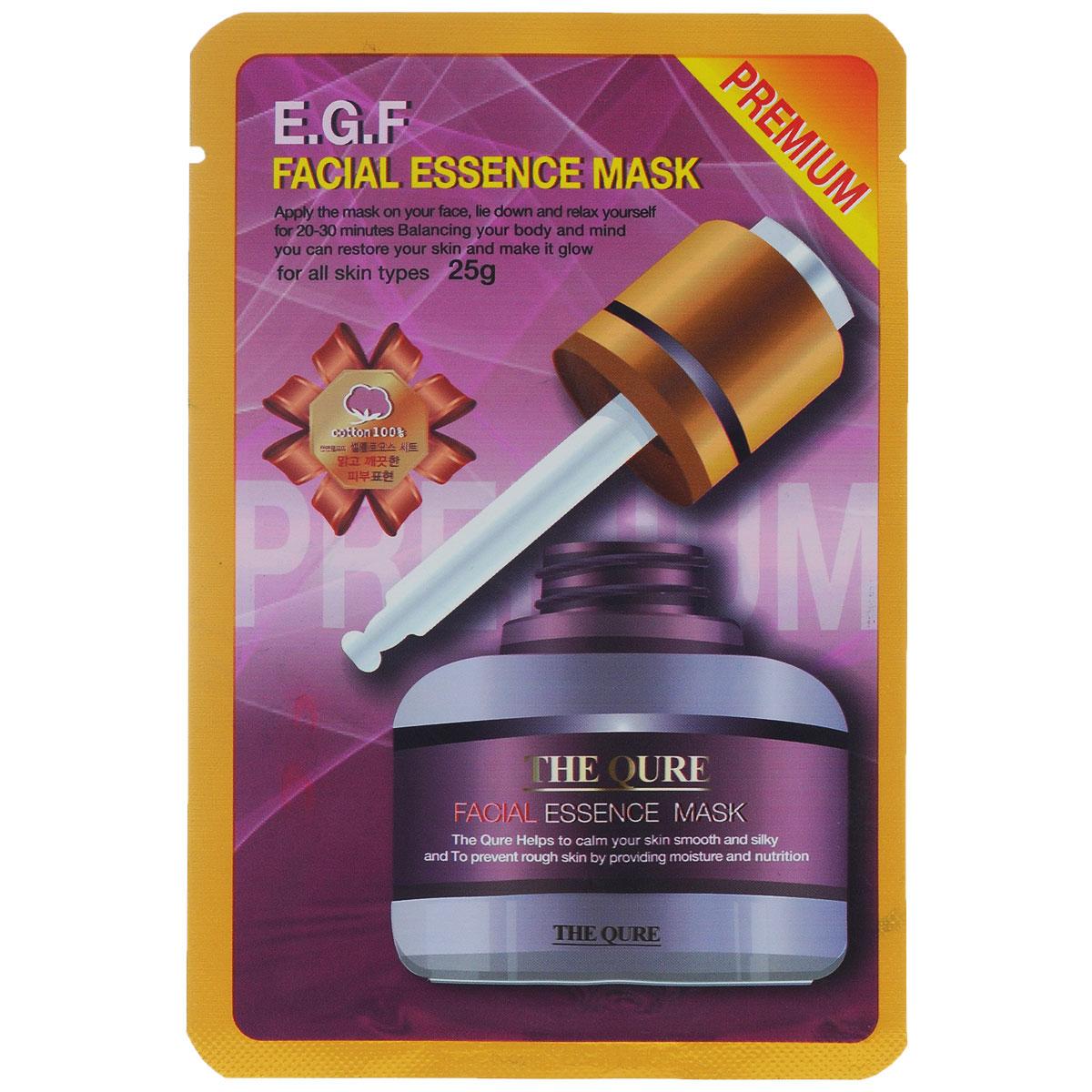 LS Cosmetic Маска для лица Регенерация и Омоложение , 25 г086-7-34332Лицевая маска-салфетка содержит EGF - Гепаринсвязанный эпидермальный фактор роста стволовых клеток, роста эпидермиса, регенерации клеток, замедляет процесс старения кожи, способствует обновлению клеток эпидермиса, сохраняя молодость кожи, защита кожи от повреждений и раздражений, улучшение цвета кожи. Фактор роста эпидермиса EGF представляет собой полипептид с небольшой молекулярной массой, который присутствует во многих тканях организма. Именно он подавляет работу гена, отвечающего за старение, стимулируя активность и рост клеток кожи. EGF восстанавливает структуру кожи и приводит ее в идеальное состояние. Кроме того, он является источником здоровья и красоты кожи, так как глубоко увлажняет ее и улучшает синтез макромолекулярных белков, обеспечивающих её эластичность.3 научно доказанных свойства EGF: Восстанавливает эпидермис - способствует росту клеток эпидермиса, снимает покраснения, уменьшает сосудистые звездочки на лице, помогает быстрому заживлению кожи после пластических операций и др. Большое количество активных компонентов бережно восстанавливают структуру кожи, ее упругость и эластичность, интенсивно питают, увлажняют, насыщают. Улучшает цвет кожи - способствует улучшению метаболизма клеток, препятствует проявлению пигментации, предупреждает образование темных пятен после приема солнечных процедур. Усиливает и улучшает кровообращение эпидермиса, делает цвет кожи естественным и здоровым. Борьба с возрастными изменениями кожи. Способствует росту и делению клеток эпидермиса, удалению ороговевших клеток, помогает разглаживанию морщин, делает кожу гладкой, упругой и нежной, оказывает омолаживающее воздействие на кожу. Защищает кожу от повреждений и раздражений - усиливает воздействие гена BCL-2, задерживающего старение клеток; обладает ранозаживляющей способностью, уменьшает вредное воздействие ультрафиолетового излучения, низких температур, негативные последствия приёма лекарственных препарат