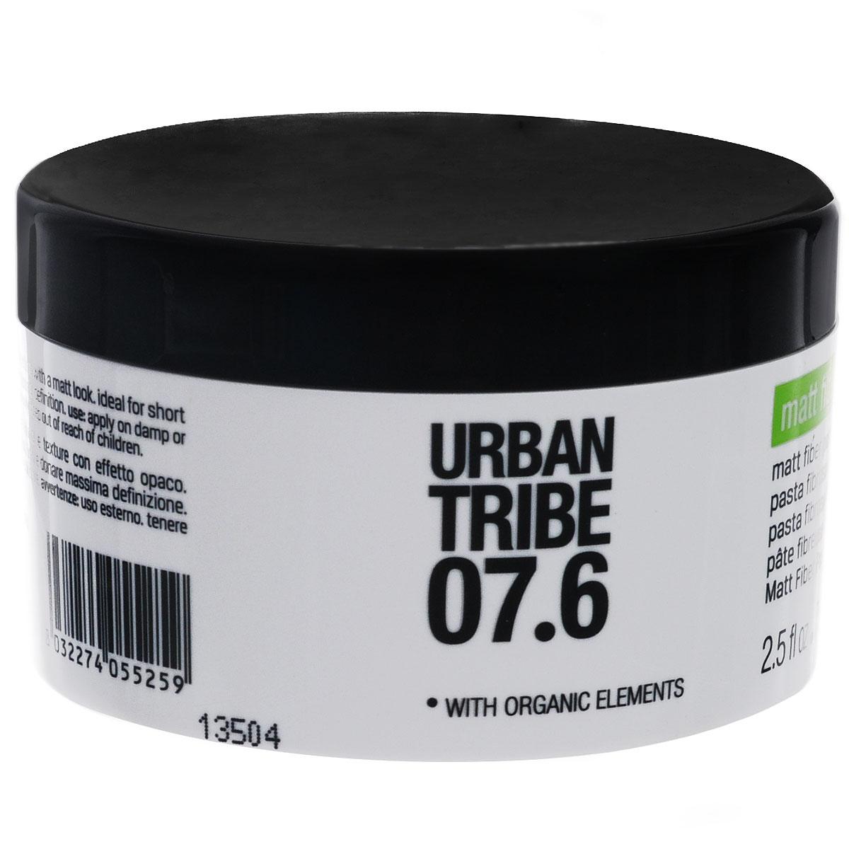 URBAN TRIBE Матирующая паста для придания объема 75 мл.9062017Матирующая паста.Придает объем и текстуру, обеспечивает матовость.
