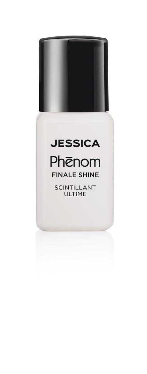 Jessica Phenom Закрепляющее покрытие Finale Shine Topcoat 15 мл40170Система покрытия ногтей Phenom обеспечивает быстрое высыхание, обладает стойкостью до 10 дней и имеет блеск гель-лака. Не нуждается в использовании LED/UV ламп. Легко удаляется, как обычный лак для ногтей.Покрытия JESSICA Phenom являются 5-Free и не содержат формальдегид, формальдегидных смол, толуола, дибутилфталат и камфору. Как наносить: Система Phenom – это великолепный маникюр за 1-2-3 шага: ШАГ 1: Базовое покрытие – нанесите в два слоя базовое средство JESSICA, подходящее Вашему типу ногтевой пластины.ШАГ 2: Цвет – нанесите в два слоя любой оттенок Phenom Vivid Colour.ШАГ 3: Закрепление– нанесите в один слой Phenom Finale Shine Topcoat для получения блеска гель-лака.