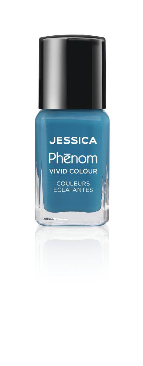 Jessica Phenom Лак для ногтей Vivid Colour Fountain Bleu № 08, 15 млAS-501/RСистема покрытия ногтей Phenom обеспечивает быстрое высыхание, обладает стойкостью до 10 дней и имеет блеск гель-лака. Не нуждается в использовании LED/UV ламп. Легко удаляется, как обычный лак для ногтей. Покрытия JESSICA Phenom являются 5-Free и не содержат формальдегид, формальдегидных смол, толуола, дибутилфталат и камфору. Как наносить: Система Phenom – это великолепный маникюр за 1-2-3 шага: ШАГ 1: Базовое покрытие – нанесите в два слоя базовое средство JESSICA, подходящее Вашему типу ногтевой пластины.ШАГ 2: Цвет – нанесите в два слоя любой оттенок Phenom Vivid Colour.ШАГ 3: Закрепление – нанесите в один слой Phenom Finale Shine Topcoat для получения блеска гель-лака.