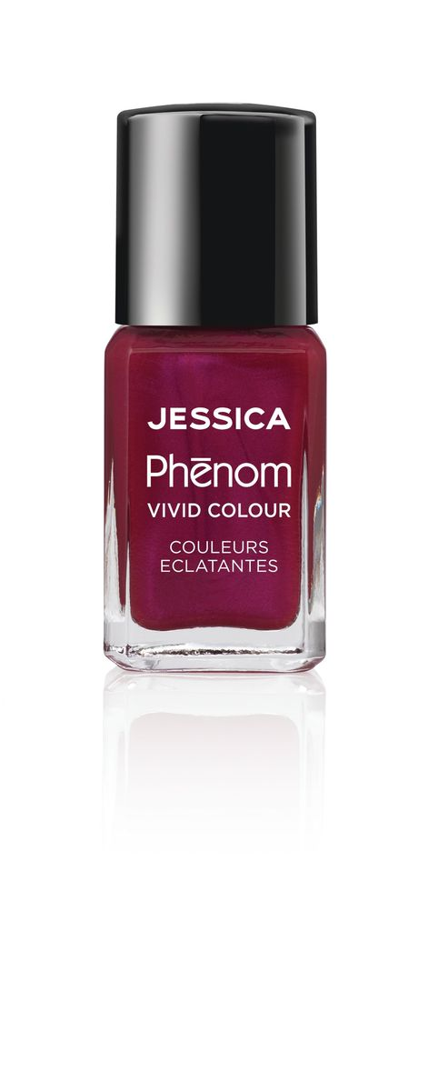 Jessica Phenom Лак для ногтей Vivid Colour The Royals № 17, 15 мл894V15474Система покрытия ногтей Phenom обеспечивает быстрое высыхание, обладает стойкостью до 10 дней и имеет блеск гель-лака. Не нуждается в использовании LED/UV ламп. Легко удаляется, как обычный лак для ногтей. Покрытия JESSICA Phenom являются 5-Free и не содержат формальдегид, формальдегидных смол, толуола, дибутилфталат и камфору. Как наносить: Система Phenom – это великолепный маникюр за 1-2-3 шага: ШАГ 1: Базовое покрытие – нанесите в два слоя базовое средство JESSICA, подходящее Вашему типу ногтевой пластины.ШАГ 2: Цвет – нанесите в два слоя любой оттенок Phenom Vivid Colour.ШАГ 3: Закрепление – нанесите в один слой Phenom Finale Shine Topcoat для получения блеска гель-лака.
