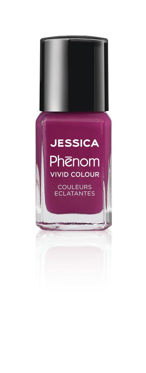 Jessica Phenom Лак для ногтей Vivid Colour Lap of Luxury № 18, 15 млWS 7064Система покрытия ногтей Phenom обеспечивает быстрое высыхание, обладает стойкостью до 10 дней и имеет блеск гель-лака. Не нуждается в использовании LED/UV ламп. Легко удаляется, как обычный лак для ногтей. Покрытия JESSICA Phenom являются 5-Free и не содержат формальдегид, формальдегидных смол, толуола, дибутилфталат и камфору. Как наносить: Система Phenom – это великолепный маникюр за 1-2-3 шага: ШАГ 1: Базовое покрытие – нанесите в два слоя базовое средство JESSICA, подходящее Вашему типу ногтевой пластины.ШАГ 2: Цвет – нанесите в два слоя любой оттенок Phenom Vivid Colour.ШАГ 3: Закрепление – нанесите в один слой Phenom Finale Shine Topcoat для получения блеска гель-лака.