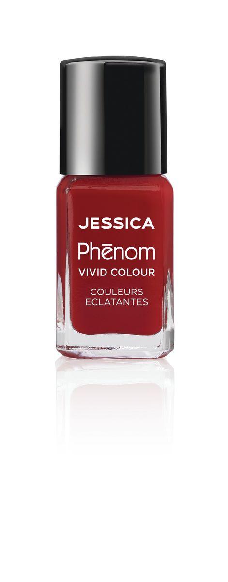 Jessica Phenom Лак для ногтей Vivid Colour Jessica Red № 21, 15 мл04272Система покрытия ногтей Phenom обеспечивает быстрое высыхание, обладает стойкостью до 10 дней и имеет блеск гель-лака. Не нуждается в использовании LED/UV ламп. Легко удаляется, как обычный лак для ногтей. Покрытия JESSICA Phenom являются 5-Free и не содержат формальдегид, формальдегидных смол, толуола, дибутилфталат и камфору. Как наносить: Система Phenom – это великолепный маникюр за 1-2-3 шага: ШАГ 1: Базовое покрытие – нанесите в два слоя базовое средство JESSICA, подходящее Вашему типу ногтевой пластины.ШАГ 2: Цвет – нанесите в два слоя любой оттенок Phenom Vivid Colour.ШАГ 3: Закрепление – нанесите в один слой Phenom Finale Shine Topcoat для получения блеска гель-лака.