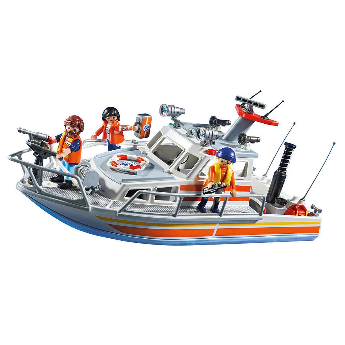 Playmobil Игровой набор Береговая охрана: Спасательный крейсер