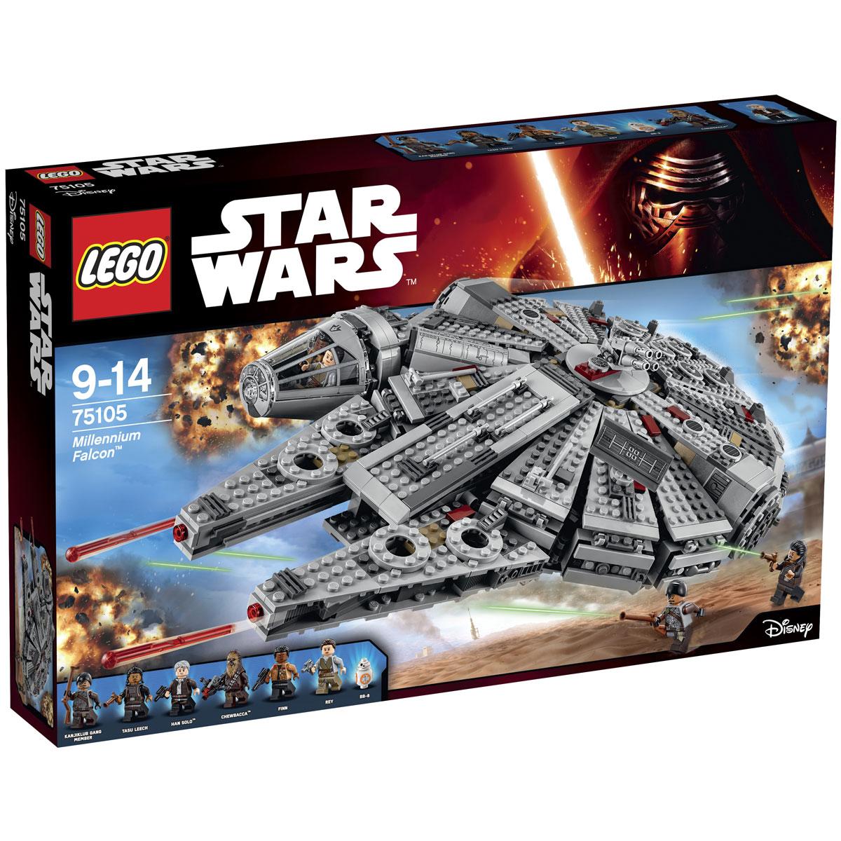 LEGO Star Wars Конструктор Сокол Тысячелетия 75105