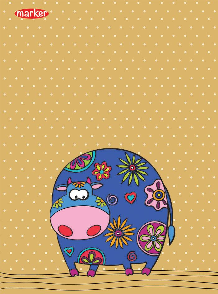 Тетрадь Flolar Pets, Marker72523WDУникальность технологии крепления- прошивка цветной шелковой нитью по сгибу изделия (отдельный эффектный элемент дизайна + повышенная прочность и удобство в использование). Скругленные углы надолго сохраняют отличный вид изделия. Авторский дизайн(модная и актуальная тема, востребованная покупательским спросом).