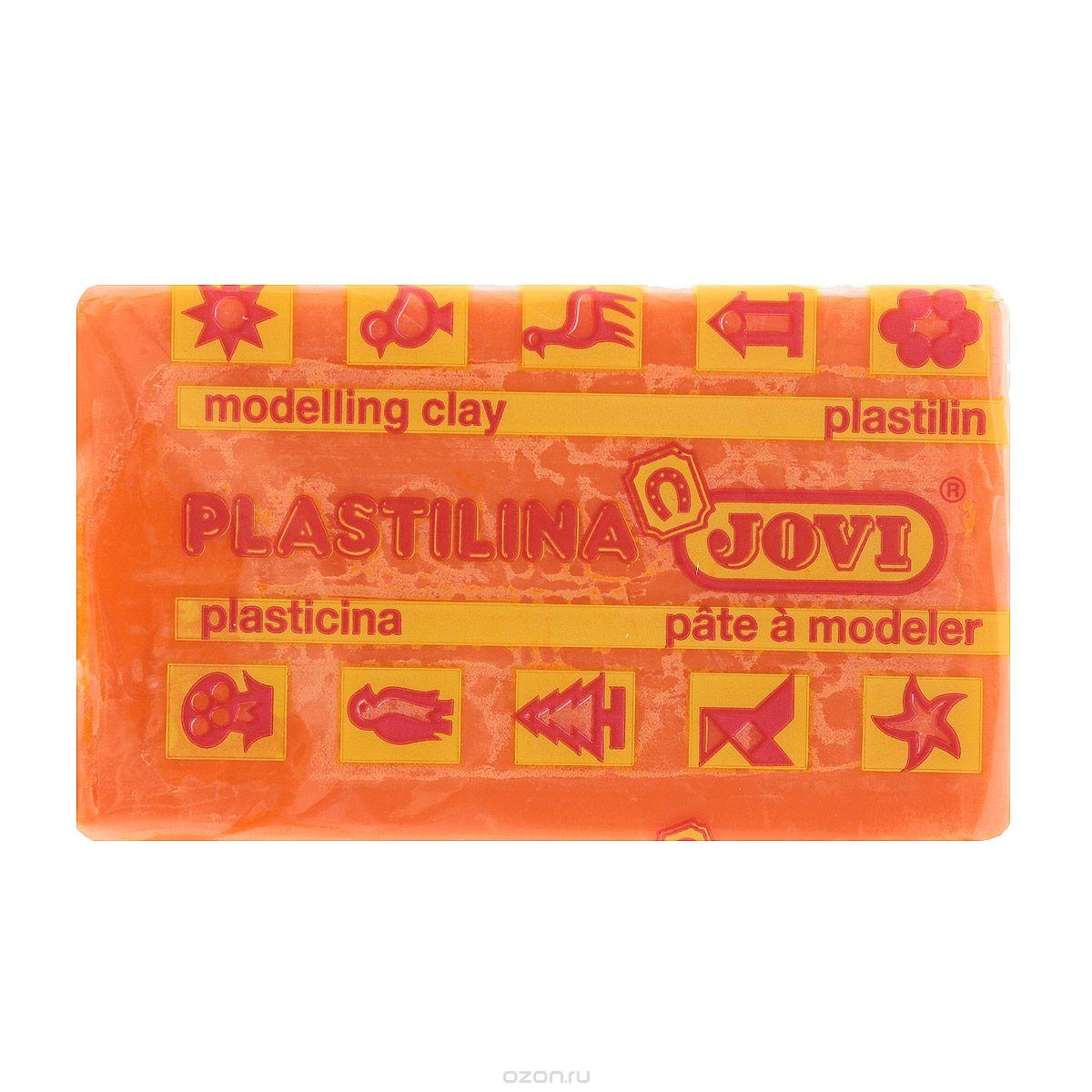 Jovi Пластилин, цвет: оранжевый, 50 г23С 1484-08Пластилин Jovi - лучший выбор для лепки, он обладает превосходными изобразительными возможностями и поэтому дает простор воображению и самым смелым творческим замыслам. Пластилин, изготовленный на растительной основе, очень мягкий, легко разминается и смешивается, не пачкает руки и не прилипает к рабочей поверхности. Пластилин пригоден для создания аппликаций и поделок, ручной лепки, моделирования на каркасе, пластилиновой живописи - рисовании пластилином по бумаге, картону, дереву или текстилю. Пластические свойства сохраняются в течение 5 лет.