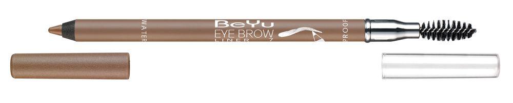 BeYu Карандаш для бровей с щеточкой № 7 светло-коричневый Eyebrow Liner Waterproof , 1г.5010777139655Водостойкий карандаш для бровей. Подчеркивает форму бровей с помощью встроенной щеточки, помогает создавать и поддерживать аккуратный контур. Текстура мягко растушевывается и стойко держится до 10 часов. Палитра состоит из натуральных и универсальных оттенков.