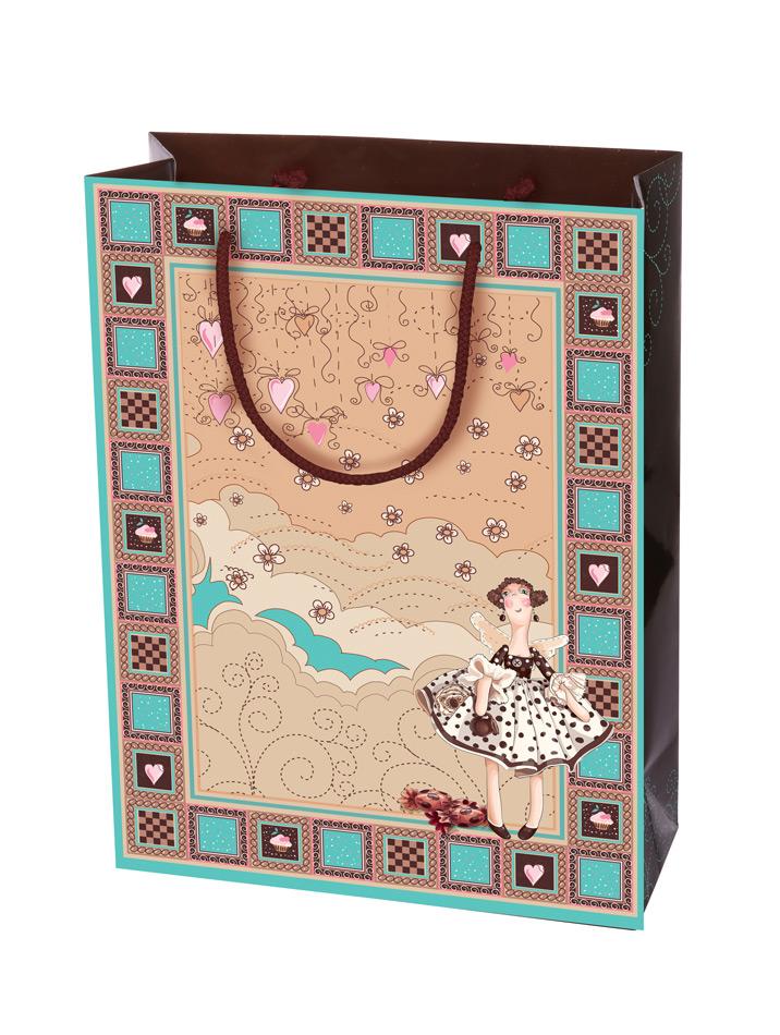 Пакет подарочный Правила Успеха Фея, 25 х 35 х 9 смBEVA.GBПодарочный пакет Правила Успеха Фея выполнен из плотной ламинированной бумаги и оформлен красочным рисунком. Дно изделия укреплено плотным картоном, который позволяет сохранить форму пакета и исключает возможность деформации дна под тяжестью подарка. Для удобной переноски на пакете имеются два шнурка.Подарок, преподнесенный в оригинальной упаковке, всегда будет самым эффектным и запоминающимся. Окружите близких людей вниманием и заботой, вручив презент в нарядном, праздничном оформлении.