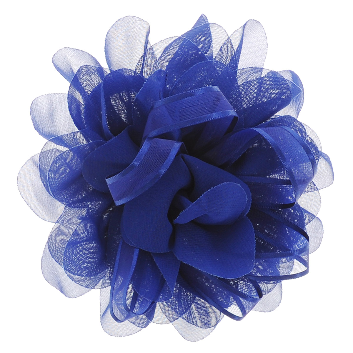 Babys Joy Резинка для волос, цвет: синий. DB 355Серьги с подвескамиРезинка для волос Babys Joy выполнена в виде большого цветка из текстиля и в центре оформлена лентой из органзы. Резинка для волос Babys Joy подчеркнет красоту прически вашей маленькой модницы.