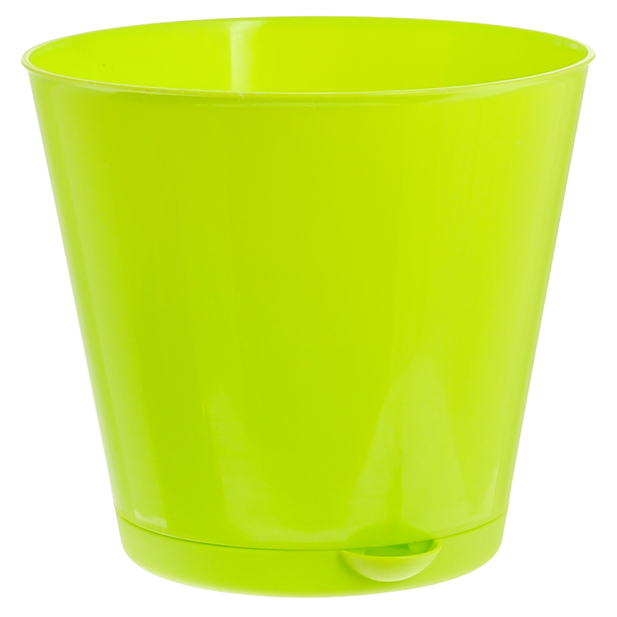 Горшок для цветов InGreen Крит, с системой прикорневого полива, цвет: салатовый, диаметр 16 смZ-0307Горшок InGreen Крит, выполненный из высококачественного полипропилена (пластика), предназначен для выращивания комнатных цветов, растений и трав. Специальная конструкция обеспечивает вентиляцию в корневой системе растения, а дренажные отверстия позволяют выходить лишней влаге из почвы. Крепежные отверстия и штыри прочно крепят подставку к горшку. Прикорневой полив растения осуществляется через удобный носик. Система прикорневого полива позволяет оставлять комнатное растение без внимания тем, кто часто находится в командировках или собирается в отпуск и не имеет возможности вовремя поливать цветы.Такой горшок порадует вас современным дизайном и функциональностью, а также оригинально украсит интерьер любого помещения. Объем горшка: 1,8 л.Диаметр горшка (по верхнему краю): 16 см.Высота горшка: 14,7 см.
