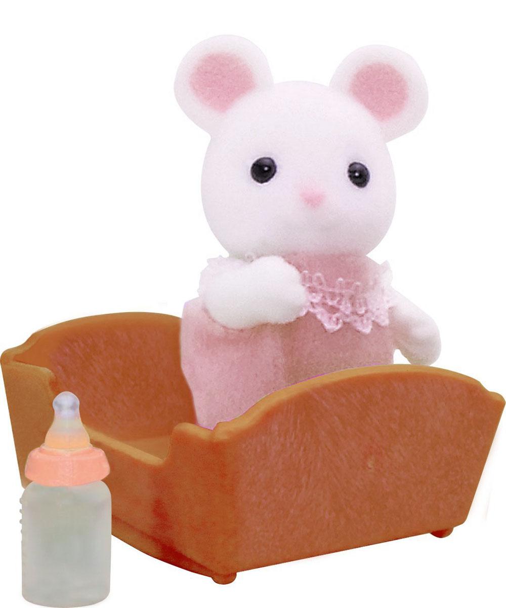 Sylvanian Families Игровой набор Малыш белый Мышонок