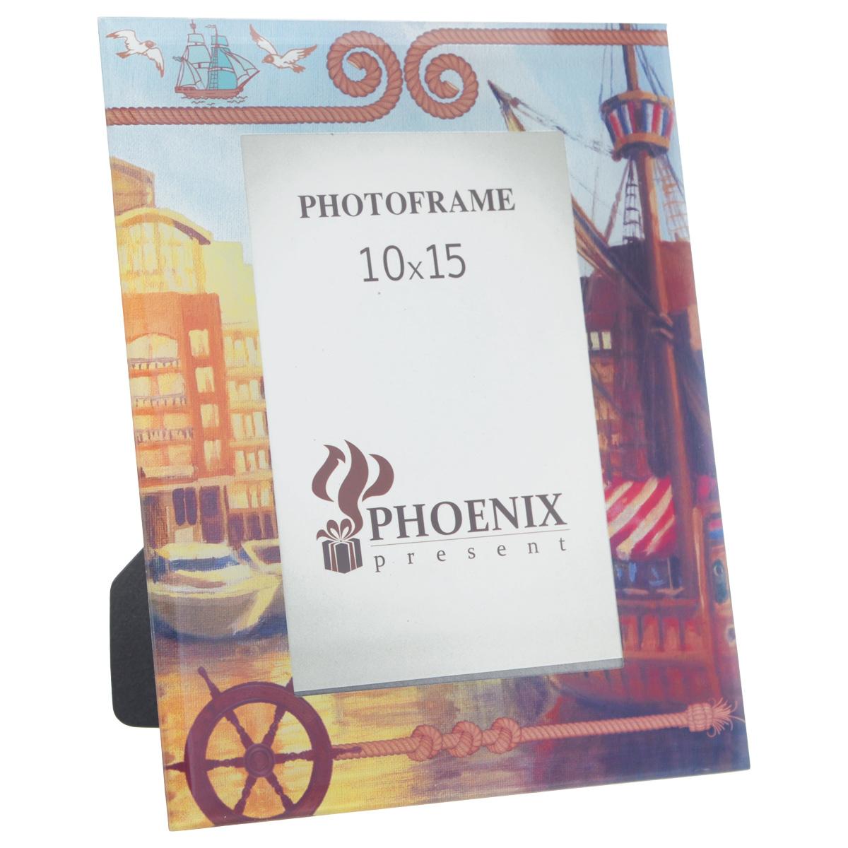 Фоторамка Феникс-презент Генуя, 10 см х 15 см феникс презент