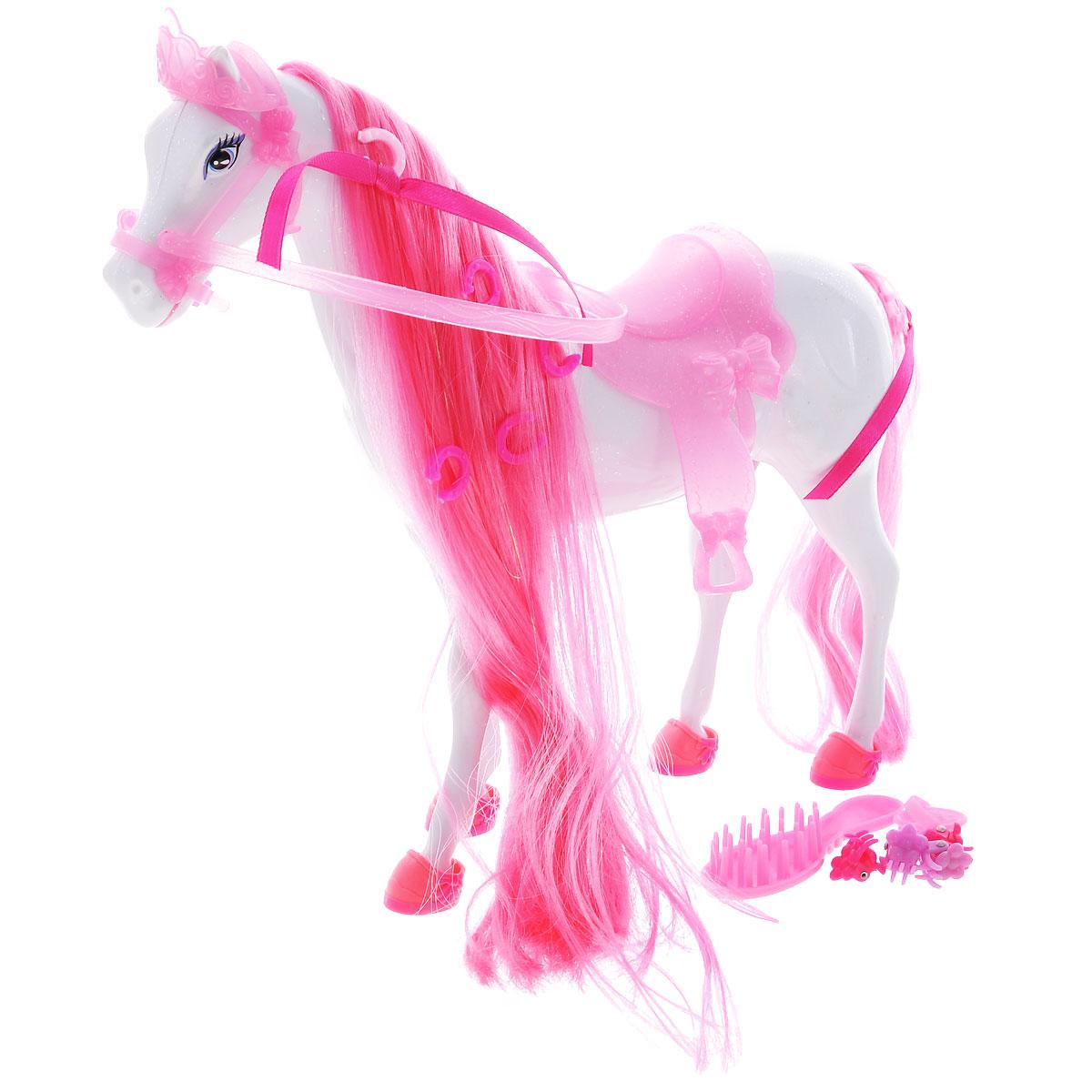 Simba Транспорт для кукол Лошадь для Штеффи simba игровой набор с куклой штеффи water styles fashion
